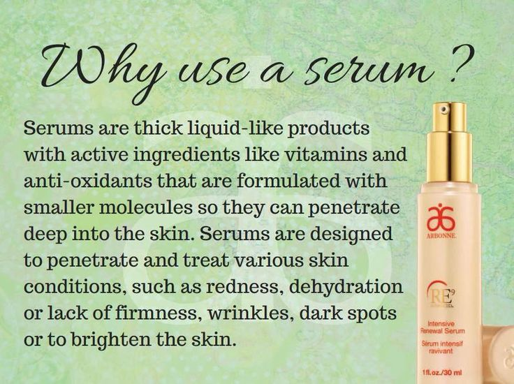 Why use serum? Here is why! Arbonne has some amazing serums to chose from :) I love mine in the Calm Line! http://www.maimieyelland.arbonne.com