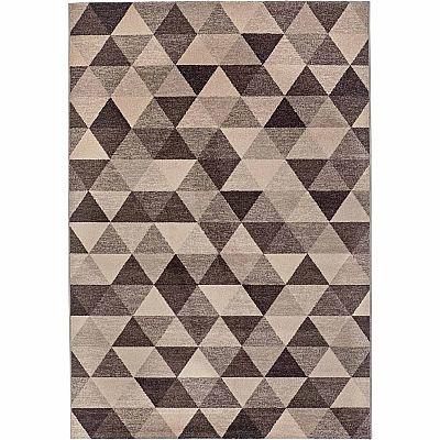 Sitap Vintage Geometric 'Beige Capri' Rug