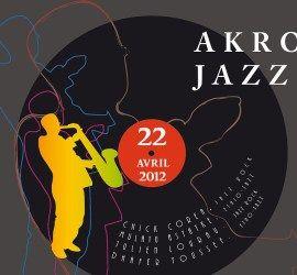 Recto d'un carton d'invitation pour une soirée Jazz