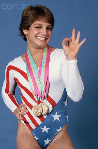 Mary Lou Retton - Summer Olympics 1984