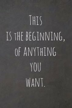 This is the beginning, of anything you want.  Join our fab team! http://www.mythirtyone.com/279701