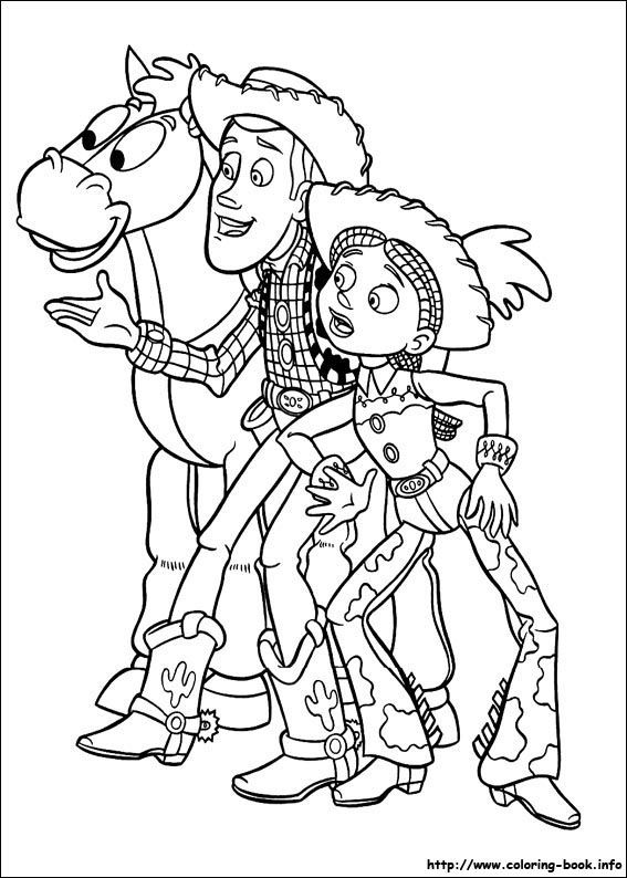 100 Free Toy Story Coloring Pages