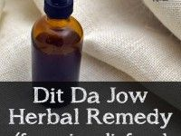 Dit Da Jow herbal remedy for pain relief and rapid healing