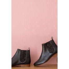 chaussures laudine noir @ DES PETITS HAUTS