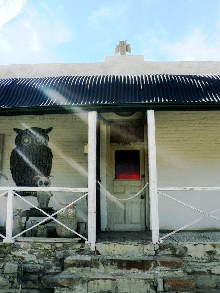 The Owl House. Stoep