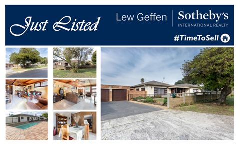 """Spacious """"old lady"""" in need of a large family to keep her company in Stellenberg!  ON SHOW this Sunday (12 June) from 15h00 to 17h00.   Contact: Louise Kock - 072 507 1626  For more information please see the following website:  http://www.sothebysrealty.co.za/results/residential/for-sale/bellville/stellenberg/house/32084/"""