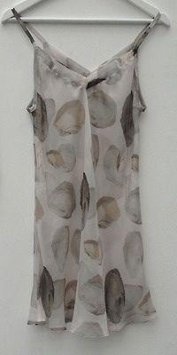 Silk printed slip