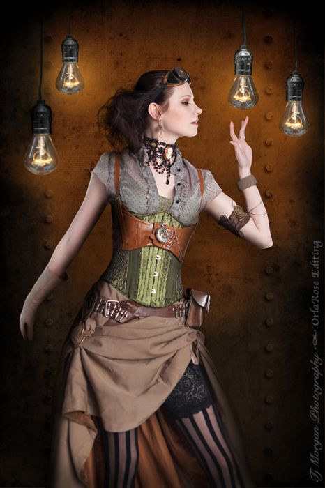 Steampunk-Lady