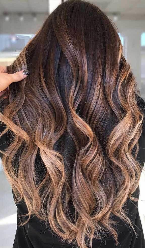Hair Color Trends 2020 Light Brown Hair Colors Brown Hair Colors Brown Honey Hair Color Fall Hair In 2020 Brown Hair Trends Hair Color Trends Hair Color Light Brown