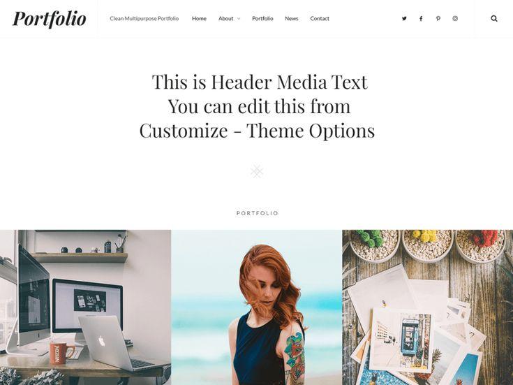 Best 25+ Free portfolio ideas on Pinterest Free portfolio - wordpress resume themes