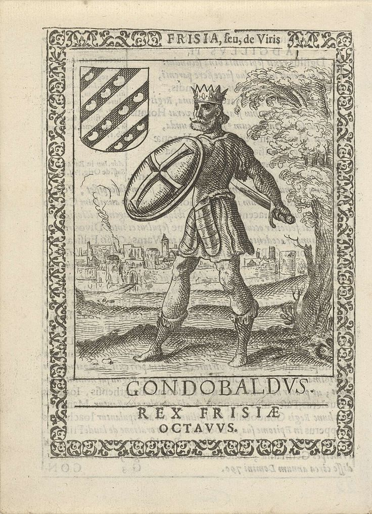 Pieter Feddes van Harlingen | Gondobaldus, achtste koning der Friezen, Pieter…