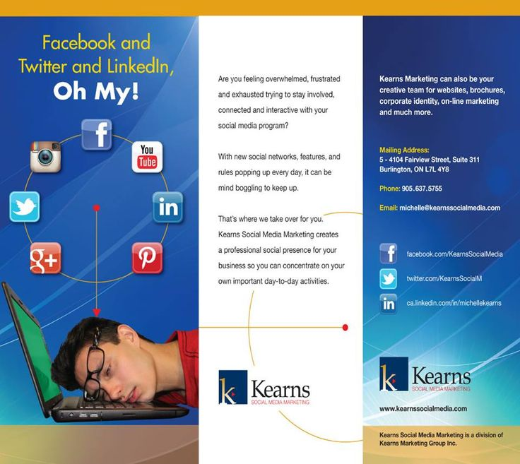 Email michelle@kearnssocialmedia.com to receive a printed or PDF copy of our new brochure.