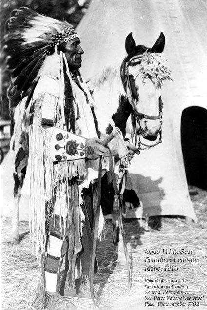 Jonas White Bear - Nez Perce