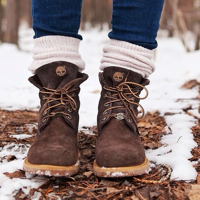 Inspired by natural colors #timberland #brown #white #cream #snow #winter
