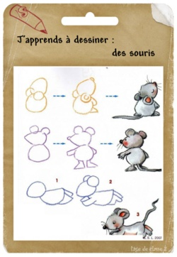 comment on dessine une souris ?