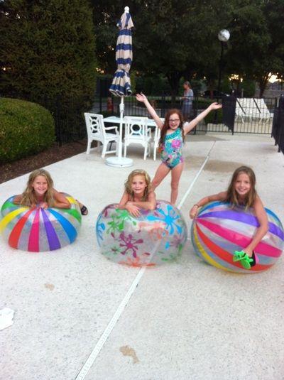 Mini Pool Party Ideas