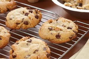 Jumbo Mini-Chip Cookies- These jumbo-sized cookies are sure to bring out even bigger smiles! Filled with chocolate and nuts, they make for a great afternoon activity to bake.