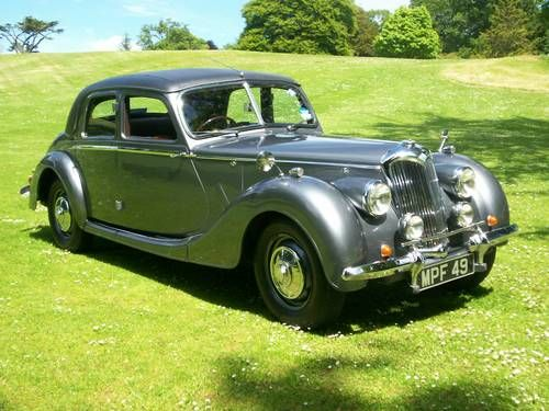 Riley RMB 2.5 litre Sports Saloon. Superb throughout. For Sale (1948)