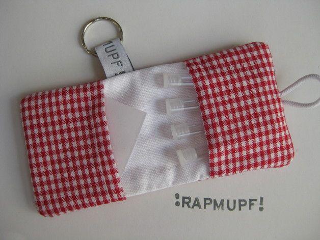 Pillen- & Notfalltaschen - Täschchen für Globuli und Pflaster ♥ - ein Designerstück von RAPMUPF bei DaWanda