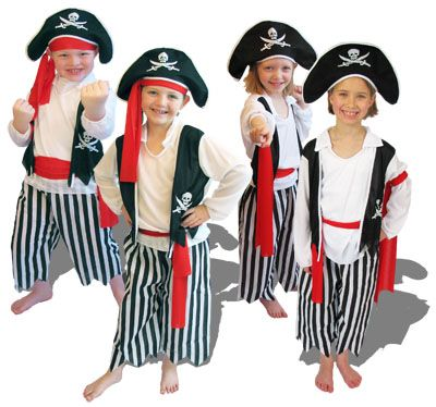 Pirate wedding dresses dress girls on girls dress up birthday costume parties