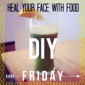DIY Fridays! No juicer? No problemo! Acne Detox Juices without a juicer