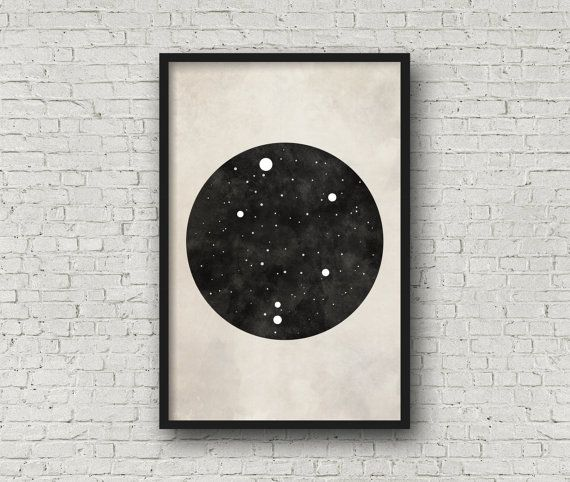 Libra Constellation Art, Art Print Poster, Wall Art, Libra Art, Zodiac Constellation, Zodiac Sign, Zodiac Art, Zodiac Print