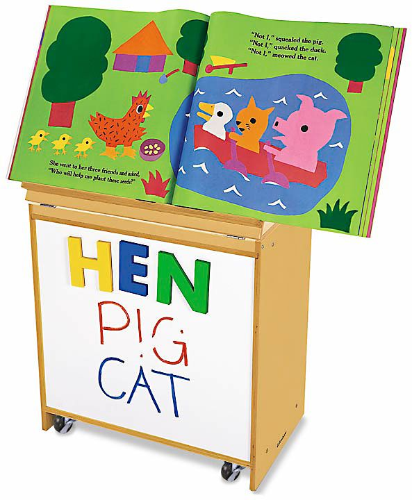 Classic Birch Magnetic Write & Wipe Big Book Center  Perfect for display and storage! #LakeshoreDreamClassroom