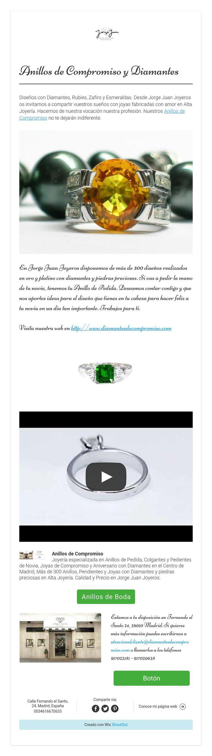 Anillos de Compromiso y Diamantes