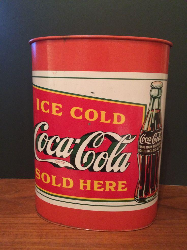 Coca-Cola Wastebasket