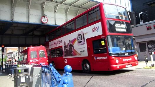 Buses at Romford, Havering, Essex/Greater London Filmed on 17th May 2016