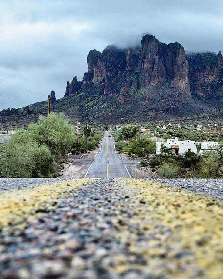 LOVE THIS!   This view of the Superstition Mountains never gets old. Thanks to @ny_2_az for sharing with us on Instagram