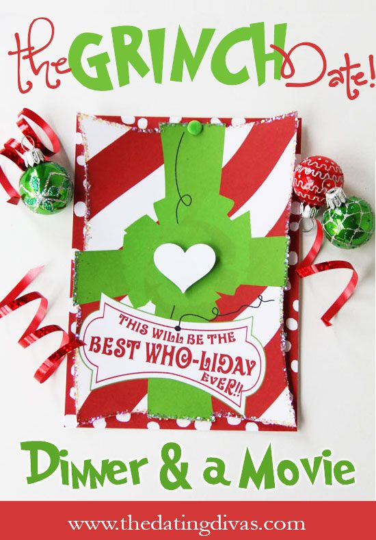 LOVE the Grinch movie! Can't wait to have a date-night with my hubby and watch it! www.TheDatingDivas.com #dinnerandamovie #datenight #thegrinch