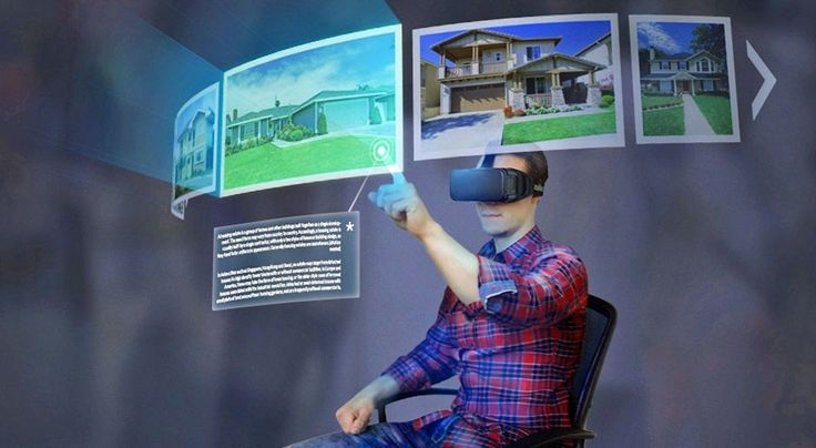 An awesome Virtual Reality pic! Browsing Internet will be much different…
