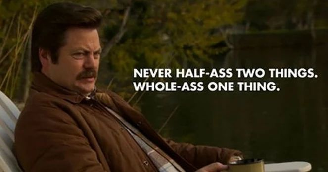 15 Reasons Ron Swanson IS the American King