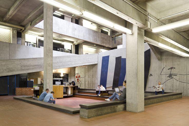 """Architekturführung """"Campus Lichtwiese"""" – Architektur – Technische Universität Darmstadt"""