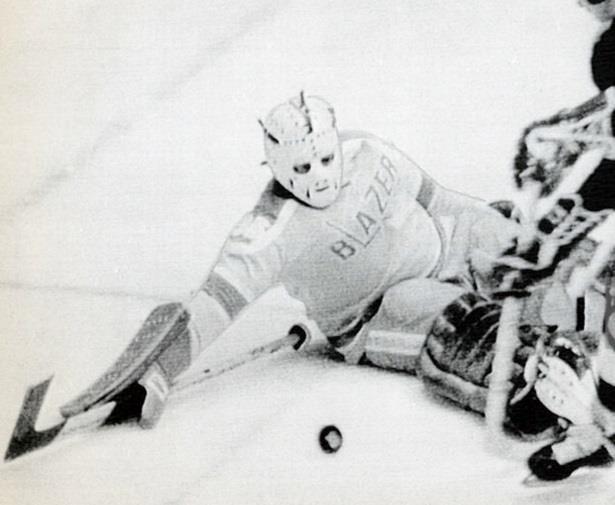 Yves Archambault, Philadelphia Blazers goalie.