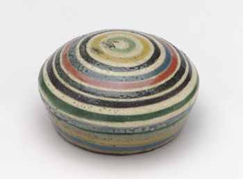 ncense container in the shape of toy top  ca. 1731-43  Ogata Kenzan , (Japanese, 1663-1743): Century Japan, Japanese Art, Ceramics Boxes, Japanese Ceramics, Japan Ceramics, Japan Art, Toys Tops, Edo Periodic, Ceramics Inspiration