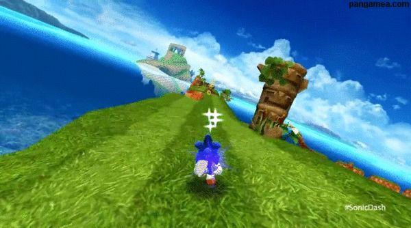 Sonic Dash - How far can the world's fastest hedgehog run?