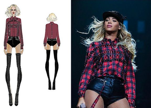 Bey Unveils her newest additions to the Mrs. Carter Show