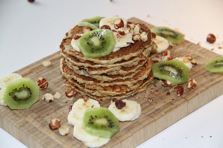 Bananpandekager // pancake cake healthyfood healthy