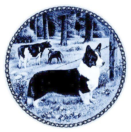 Welsh Corgi Cardigan / Lekven Design Dog Plate 19.5 cm /7.61 inches Made in Denmark NEW with certificate of origin PLATE -7361 -- Learn more by visiting the image link. (This is an affiliate link and I receive a commission for the sales)