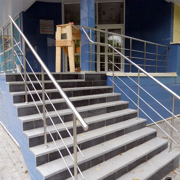 Front Elevation Railing : Ideas about steel handrail on pinterest stainless