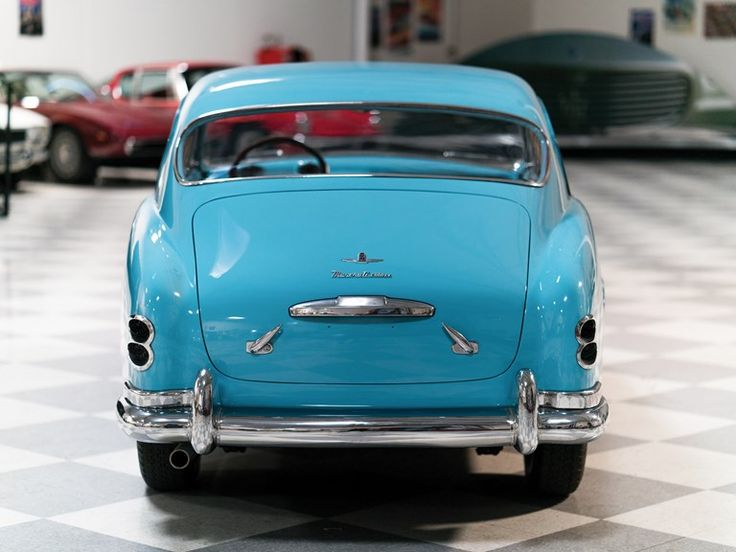 1951 Maserati A6G 2000 Coupé von Pinin Farina   – Detroit Golden Years