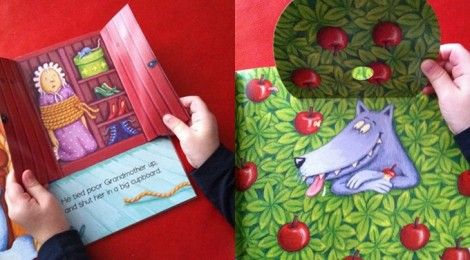 Little Red Riding Hood - with audio cd review by MammaLoSa Blog Cappuccetto Rosso, albo illustrato con audio cd, in inglese - recensione #english4kids