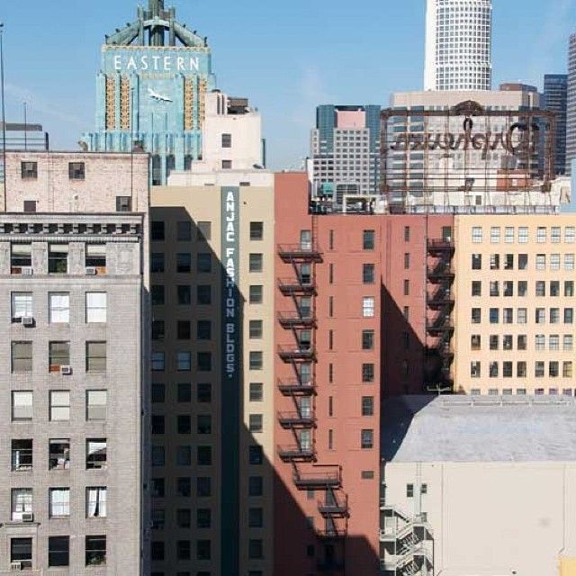 Gorgeous And Clic Dtla View From The Garment District Ndh Search Ndhsearch