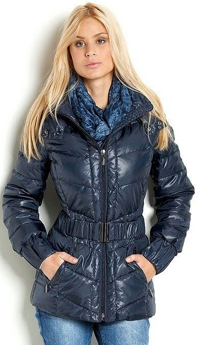 With Scarf Puffer Jackets Jackets Winter Jackets