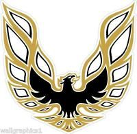 1979 Vintage Pontiac Trans-Am Eagle Wall Graphic Decal Garage Decal Cling Art