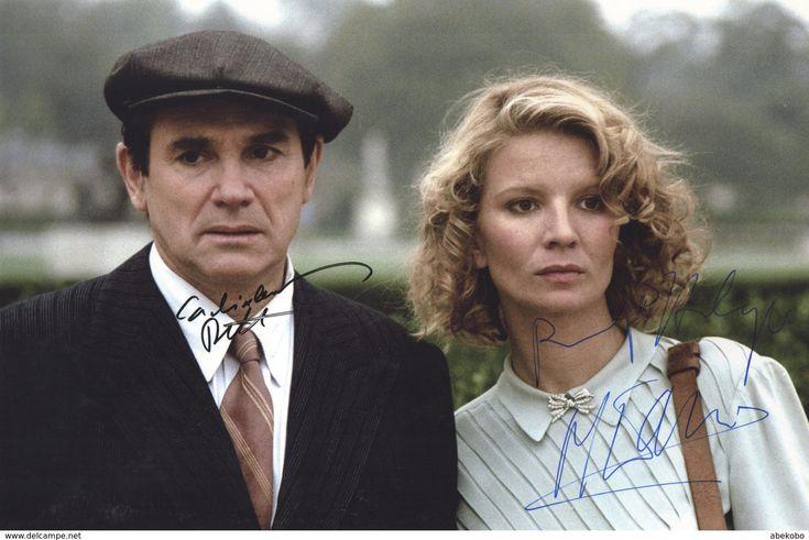 Robert HOSSEIN & Nicole GARCIA - Grande Photo Dédicacée - Autographe - Obtenu En Personne - Autographs
