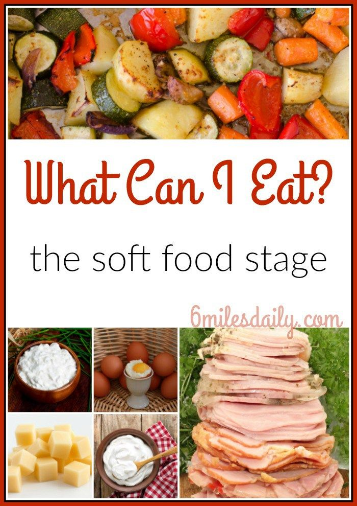 soft food stage