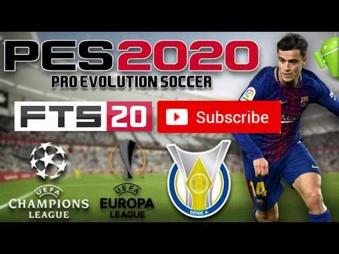 PES 2020 Mod FTS Android OFFLINE Update Download - YouTube | Pes2020